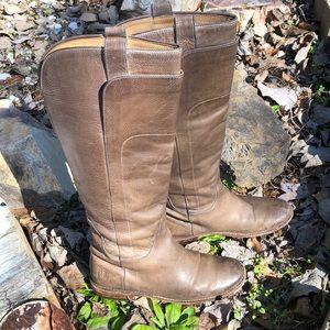 Sz 6 Frye knee brown Boots